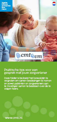 Conversation healthcare provider folder Dutch