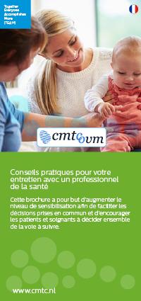 Conversation healthcare provider folder French