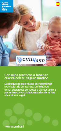 Conversation healthcare provider folder Spanish