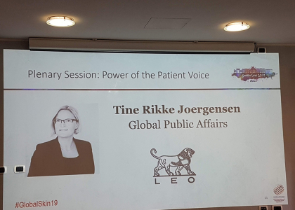 Global Skin 2019 power of the patient voice